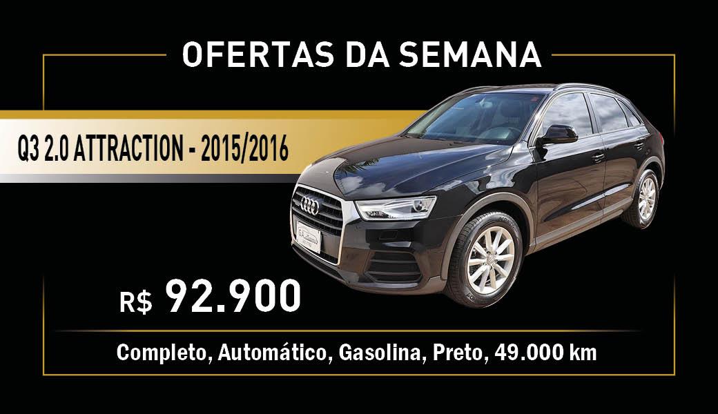 Banner Audi Q3 Preto